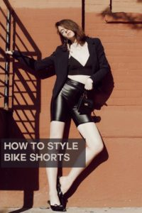 how to wear bike shorts