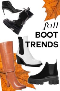 boots you need for fall, fall boot trends