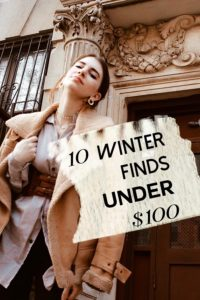 10 winter finds under $100