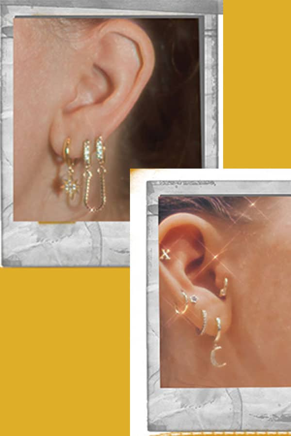 curated ear, ear piercing journey and ideas
