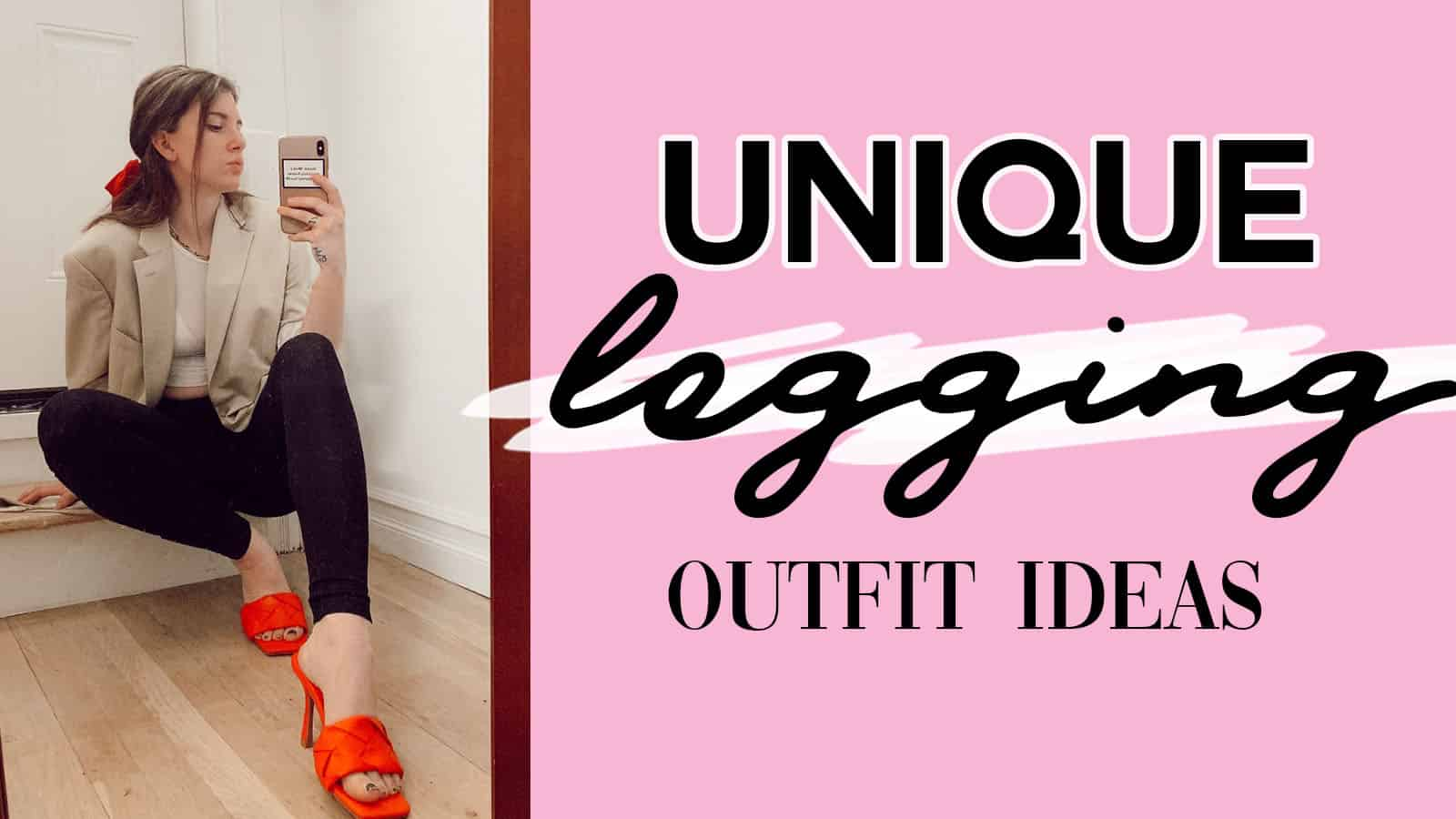 unique legging outfit ideas, leggings as pants, cute legging outfits