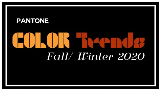 fall color trends 2020 ultimate breakdown of f/w 2020 colors