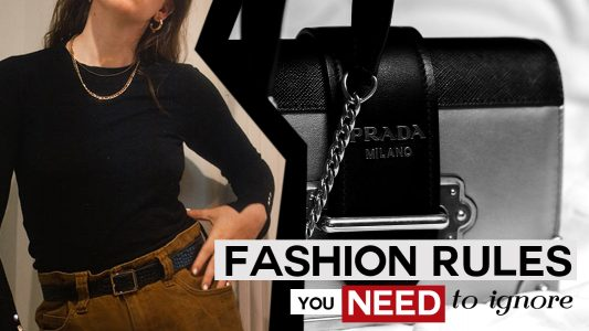 fashion rules you need to ignore, outdated fashion rules 2020