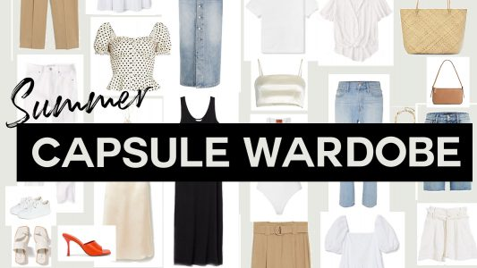summer capsule wardrobe 2020 THe ultimate guide