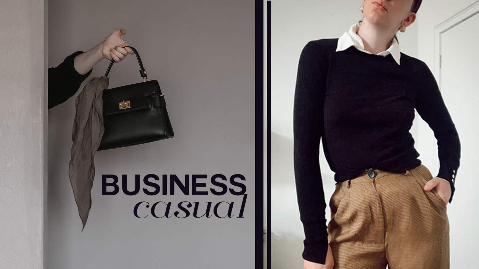 business casual style how to