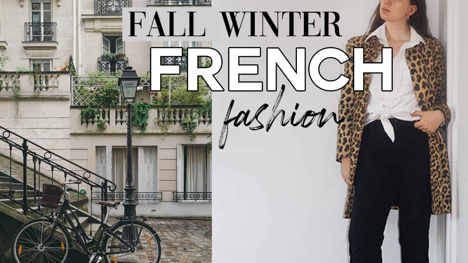 fall french fashion