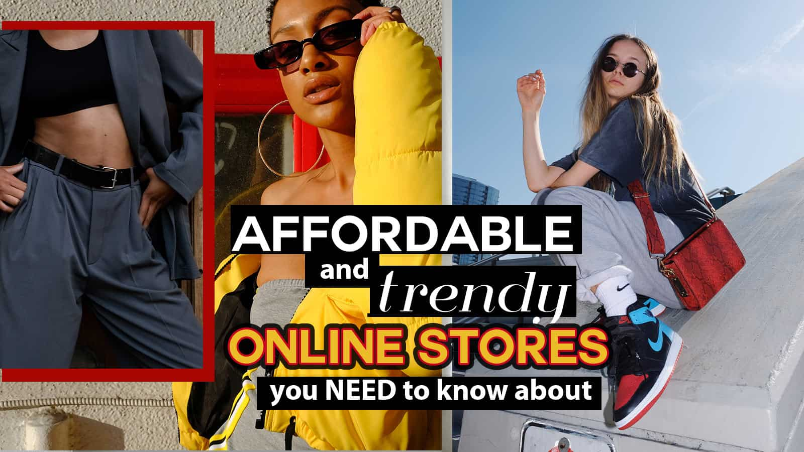 best trendy and affordable online stores