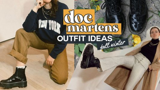 doc martens outfits winter