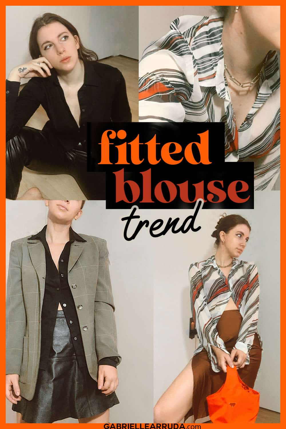 fitted blouse trend 2020
