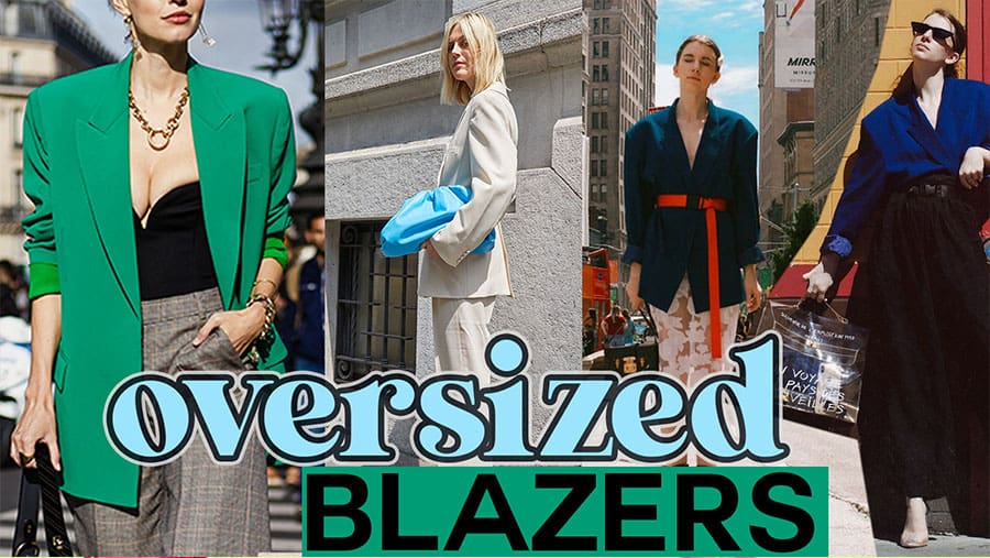 Elevate your style with this one item: an oversized blazer