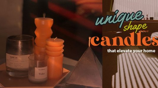 Cool Shape Candles that will ELEVATE your home in a snap