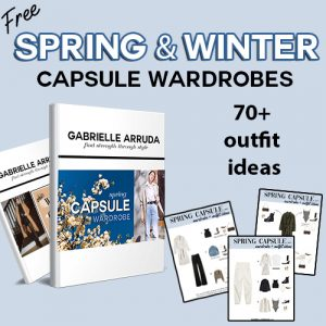 free spring and winter caspule wardrobes and 70+ outfit ideas